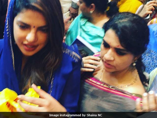 Ganesh Chaturthi 2017: Priyanka Chopra To Ajay Devgn, Lalbaugcha Raja's Celeb Devotees