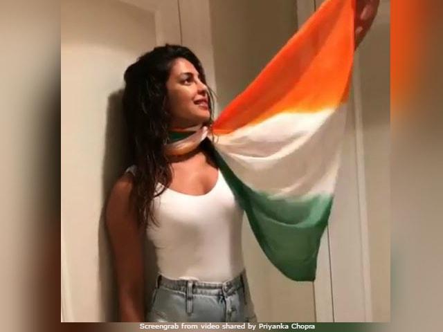 Priyanka Chopra, Why No Sari? Actress Trolled For Independence Day Post