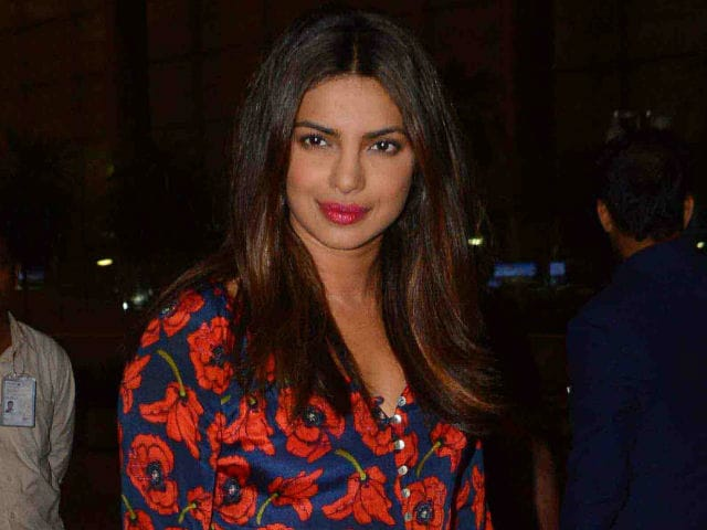 Priyanka Spoilt For Choice In Bollywood. Details Here