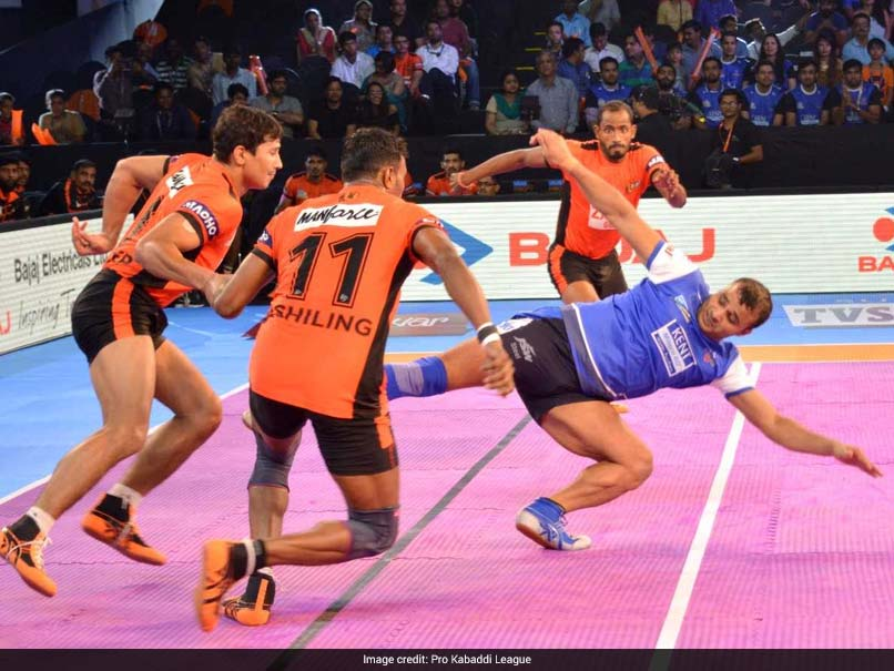 Pro Kabaddi League: U Mumba Beat Haryana Steelers 38-32