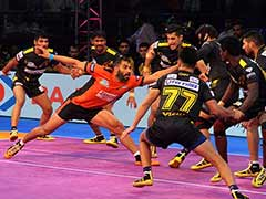 Pro Kabaddi League 2017: Telugu Titans Beat U Mumba, Haryana Steelers Defeat UP Yoddha