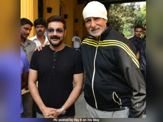 Amitabh Bachchan Gives Prosenjit Chatterjee, 'Bengal's Superstar,' A Shout-Out