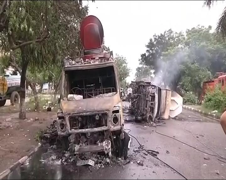 punchkula violence