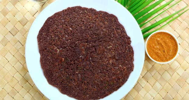 ragi wheat dosa
