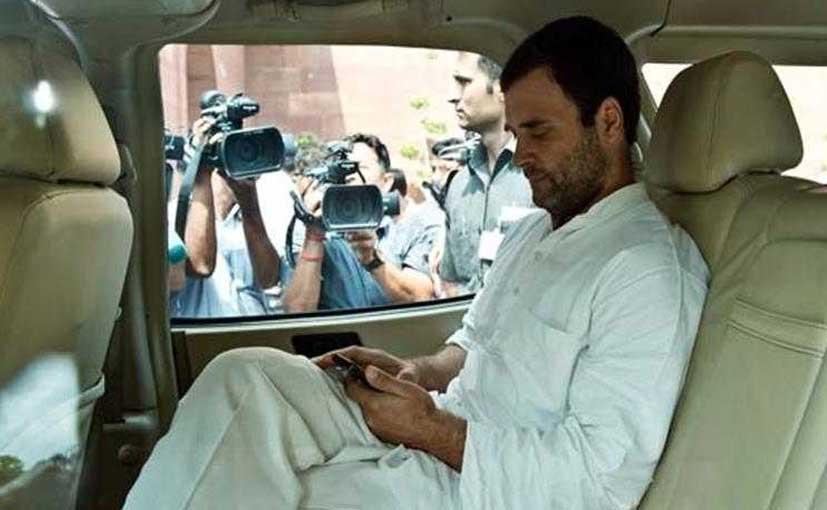 राहुल गांधी के सहयोगी ने कहा कांग्रेस उपाध्यक्ष को दी गई कार है 'सेहत के लिए हानिकारक'