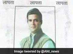 'Rahul Gandhi Missing', Say Posters In Amethi, Offers 'Reward' For Information