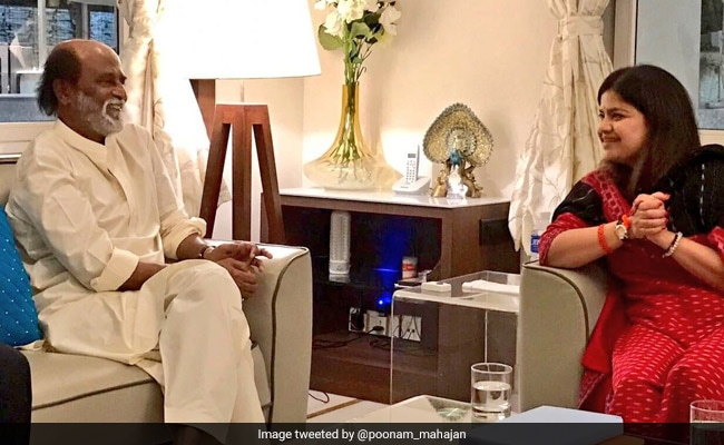 A BJP Leader Meets Rajinikanth, Party Says Courtesy Call