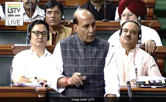 Rahul Went Abroad Without Security: Rajnath To Congress Protest
