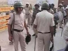 डेरा सच्चा सौदा प्रमुख राम रहीम के समर्थकों ने पत्रकारों पर बोला हमला, NDTV की ओबी वैन को किया आग के हवाले