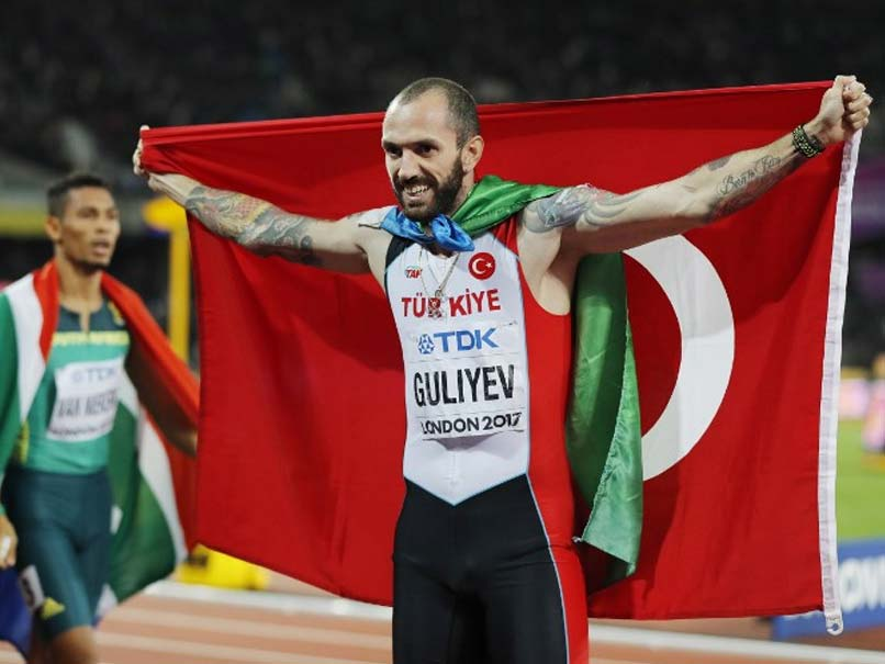 Turk stuns crowd, wins gold at world championships
