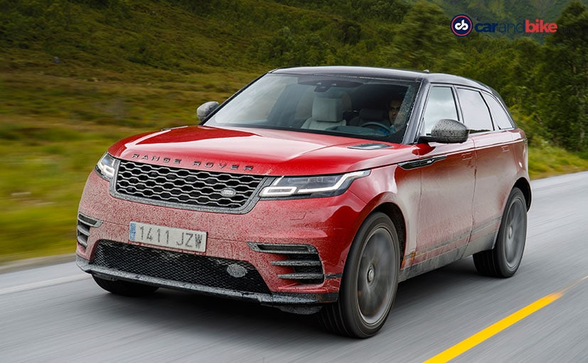 The Range Rover Velar has been awarded the World Design Car of the year