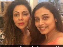 Rani Mukerji, Sussanne Khan, Farah Khan Visit Gauri Khan's New Store. See Pics