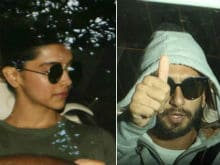 Spotted: Deepika Padukone And Ranveer Singh. But We Can't Tell If They Were Together