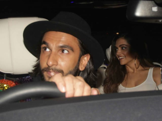 Ranveer Singh Took Deepika Padukone To A Party. See Trending Pics Here