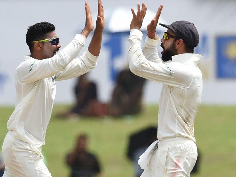 Ravindra Jadeja's Five-For Powers India To Test Series Win Over Sri Lanka