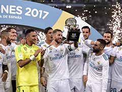 Cristiano Ronaldo-Less Real Madrid Complete Spanish Super Cup Rout Of Barcelona