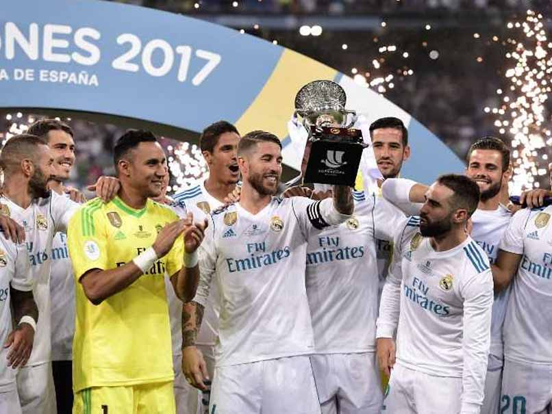 Real Madrid Complete Spanish Super Cup Rout Of Barcelona