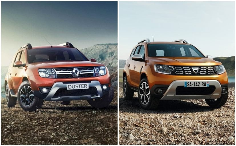 renault stepway 2018. plain 2018 renault duster old vs new front intended stepway 2018