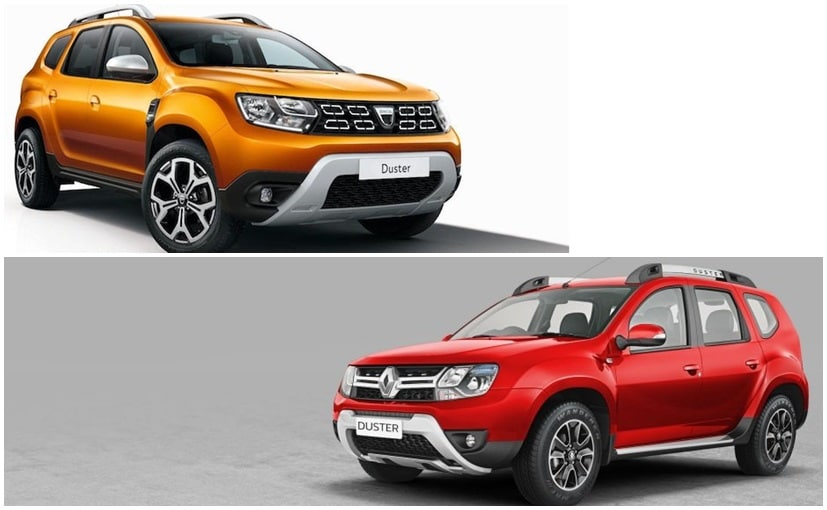 2018 renault duster vs 2016 renault duster spot the for Interieur duster 2018