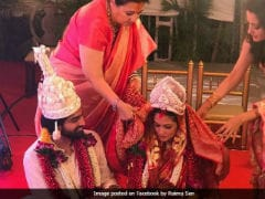 Inside Riya Sen's Traditional Bengali Wedding. See Dreamy Pics