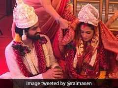 यह क्या... रिया सेन ने चुपके से कर ली बॉयफ्रेंड से शादी! देखें फोटो