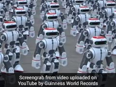 Video: 1,069 Robots Dance Their Way To A Guinness World Record