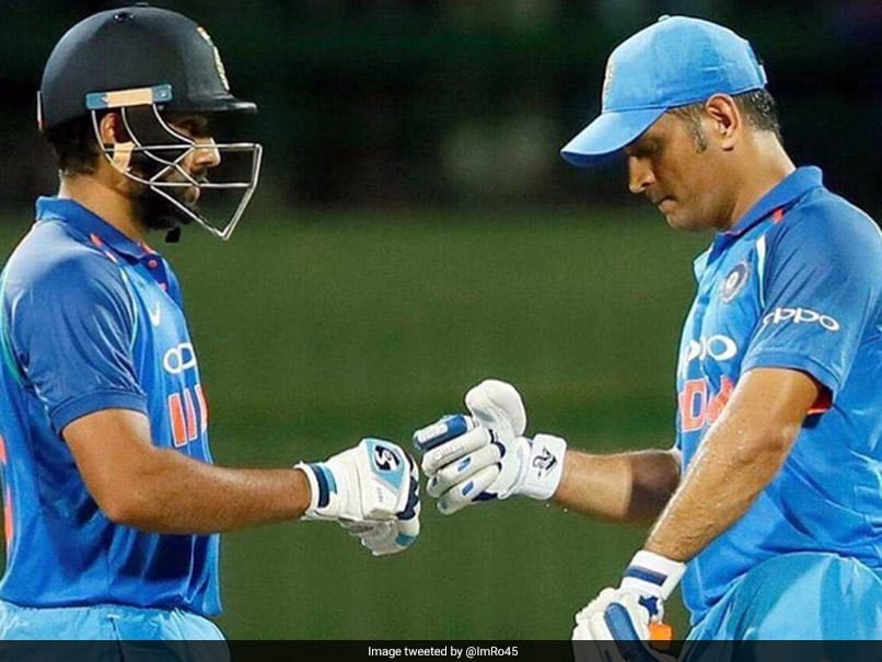 India Vs Sri Lanka: Rohit Sharma's 'Special' Message For MS Dhoni After Match-Winning Partnership