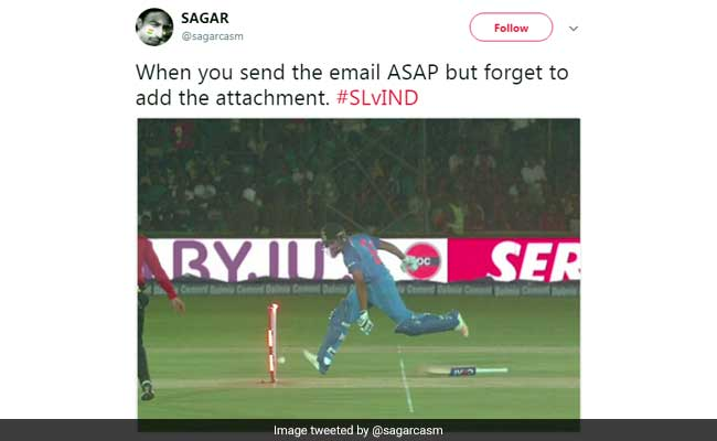 After Rohit Sharma's Bizarre Run-Out, Twitter Clean-Bowls Him With Memes