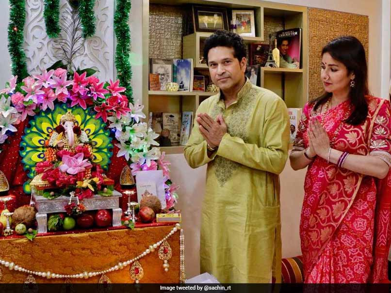 Sachin Tendulkar, Virender Sehwag Wish People On Ganesh Chaturthi