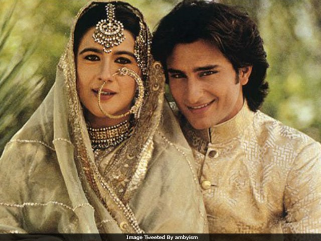 Saif Ali Khan, Amrita Singh's Wedding Pic Goes Viral ...