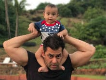 Raksha Bandhan 2017: Salman Khan Plays With Nephew Ahil In This Cute Video