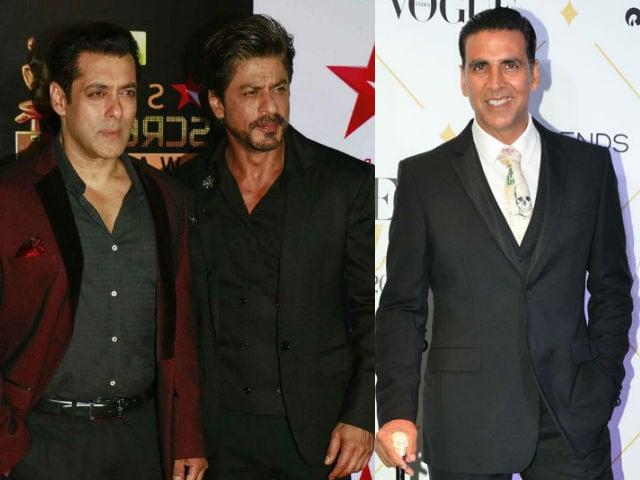 Shah Rukh Khan, Salman Khan, Akshay Kumar On Forbes' Highest Paid Actors List. Aamir Khan? Nope