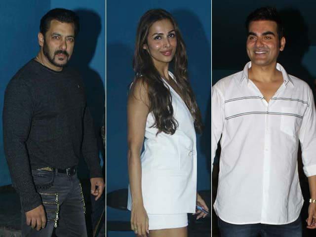 Salman Khan, Malaika Arora At Arbaaz Khan's Birthday Bash. See Pics
