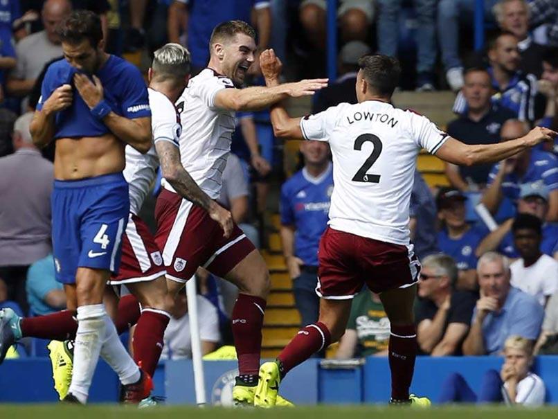 Premier League: Burnley Stun Nine-Man Chelsea, Arsenal Beat Leicester City
