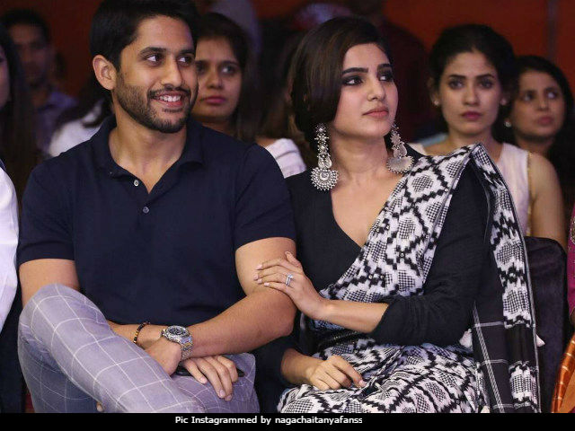 Samantha Ruth Prabhu, Naga Chaitanya Held Hands Through This Show. Aww-Dorable Much?