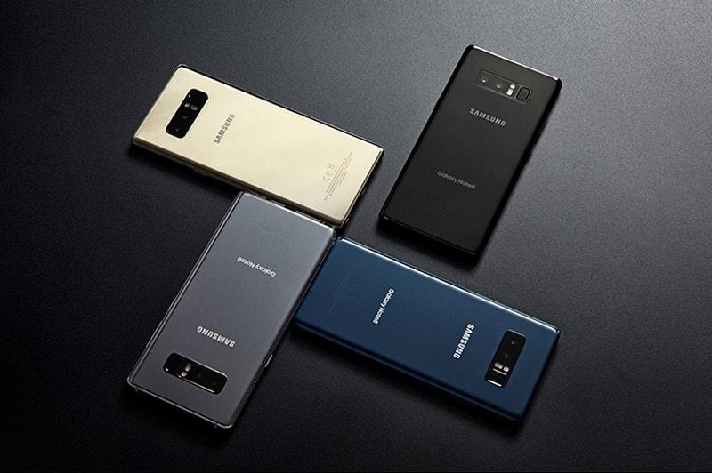 Samsung Galaxy Note 8 लॉन्च, दो रियर कैमरे और 6.3 इंच डिस्प्ले से है लैस