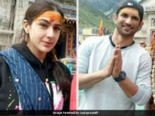 Sara Ali Khan Prays At Kedarnath Temple With Co-Star Sushant Singh Rajput Before Filming Begins