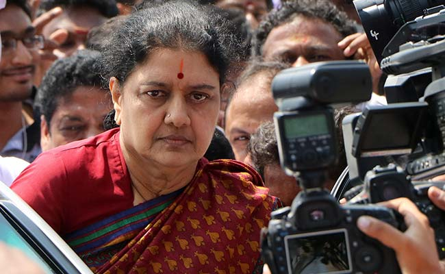 VK Sasikala's Parole Plea Rejected On 'Technical Grounds'