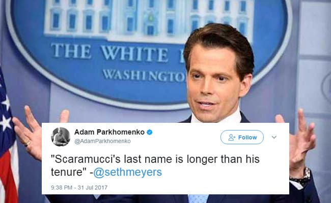 Trending: Everything That Lasted Longer Than Anthony Scaramucci In Office