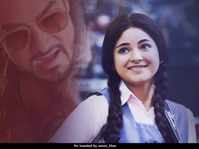 Aamir Khan On Secret Superstar Poster, Finally. Trailer Out Soon