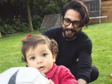 Shahid Kapoor's Pic Proves That Baby Misha's Superpower Is Being Adorable