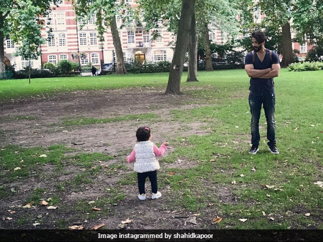 Inside Shahid Kapoor's Vacation: An Adorable Pic With Baby Misha
