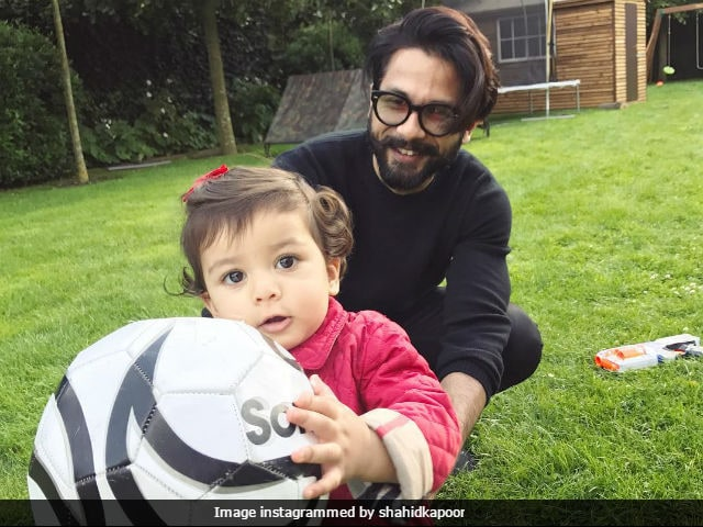 Shahid Kapoor Thanks Fans For 'Wonderful Wishes' On His Daughter Misha's First Birthday