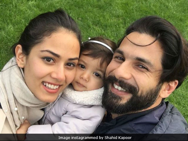 Shahid Kapoor's Picture With Daughter Misha And Wife Mira Is Cute Beyond Words