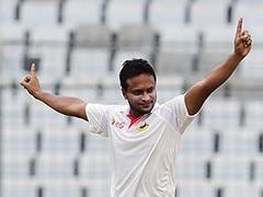 1st Test: Shakib Al Hasan