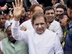 Sharad Yadav's Show Of Strength With Opposition Parties Tomorrow