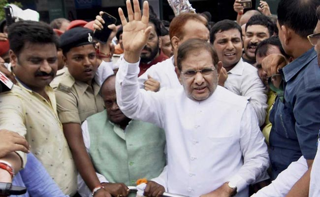 Sharad Yadav Signals Separation, Says There Are 2 Janata Dals