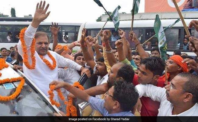 JDU के बागी नेता शरद यादव की आज पार्टी से होगी विदाई!