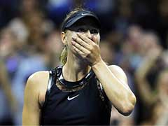 US Open: Maria Sharapova, in First Grand Slam Match After Doping Ban, Stuns Simona Halep