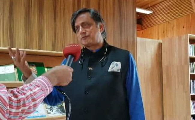 Was Told Parliamentary Disruptions Part Of Our Culture, Says Shashi Tharoor